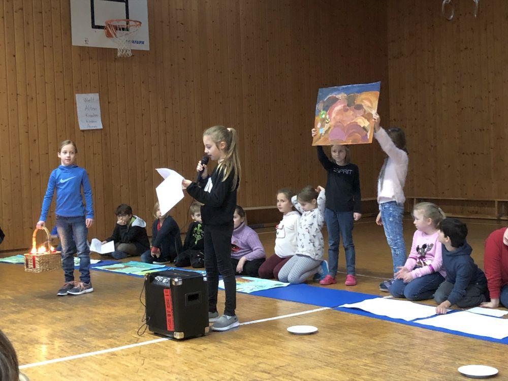 Weihnachtsfeier Geschichte.Weihnachtsfeier 2018 Grundschule Klingenmünster Verbandsgemeinde